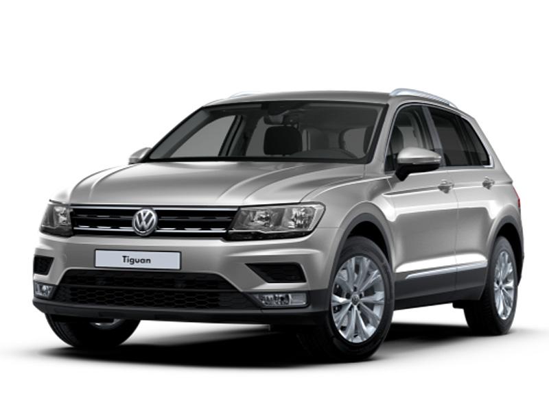 VW Tiguan Comfortline 2,0 TDI DSG 4Motion